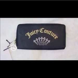 NWT Juicy Couture Wallet Shining Crown